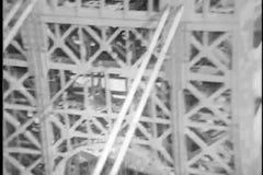 George Washington Bridge, 1930s stock video