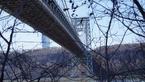 The George Washington Bridge 32 Royalty Free Stock Photo