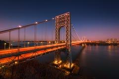 George Washington Bridge Royalty Free Stock Image