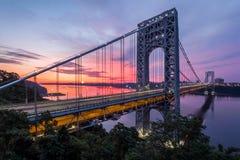George Washington Bridge royalty free stock images