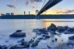 George Washington Bridge royalty free stock photography