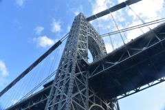 George Washington Bridge stock images