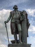 George Washington. A bronze statue of George Washington at Valley Forge National Historical Park Stock Image
