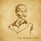 George Washington Cable Digital Hand dragen illustration Royaltyfri Bild
