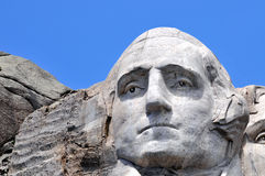 George Washington closeup Stock Photography