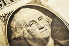 George Washington Dollar Bill Royalty Free Stock Photo