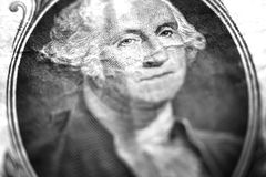George Washington Dollar Bill American Money. Currency stock photography