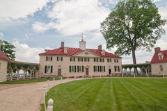 George Washington dom w Mount Vernon, VA Obraz Stock
