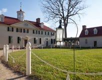 George Washington domu góra Vernon Zdjęcia Royalty Free