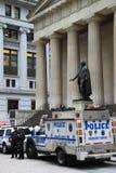 George Washington en de politieagenten Royalty-vrije Stock Afbeelding