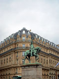 George Washington Equestrian Statue in Paris Stock Images