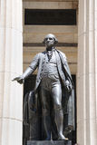 George Washington at Federal Hall. George Washington Statue at Federal Hall in New York City Stock Images