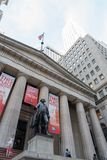 George Washington at Federal Hall in NYC Stock Image