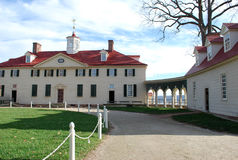 George Washington Haus lizenzfreie stockfotografie
