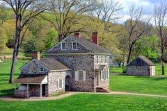 George Washington Headquarters alla forgia della valle Immagine Stock Libera da Diritti