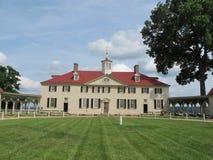 George Washington-huis in Mount Vernon stock foto
