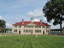 George Washington hus i Mount Vernon Arkivfoto