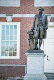 George Washington at Independence Hall royalty free stock photography