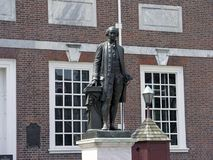 George Washington Independence Hall statue Royalty Free Stock Photography