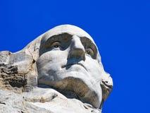 George Washington Isolated Mount Rushmore Arkivfoto
