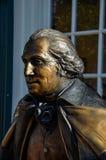 George Washington, Main Street, Smithfield, VA Stock Images
