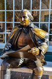 George Washington Main Street, Smithfield, VA Royaltyfri Foto