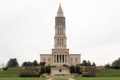 George Washington Masonic National Memorial no inverno Fotos de Stock Royalty Free