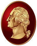 George Washington medallion Royalty Free Stock Photography