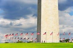 George Washington Monument Fotografering för Bildbyråer