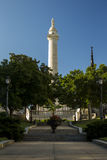 George Washington Monument in Baltimore Maryland Lizenzfreie Stockfotos