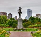 George Washington Monument - Boston fotografie stock libere da diritti