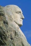 George Washington, Mount Rushmore. Profile of George Washington on Mt. Rushmore, South Dakota Stock Images
