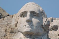 George Washington. In Mount Rushmore National Memorial,  Keystone South Dakota – August 26, 2012 Stock Photography
