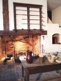 George Washington Mount Vernon rekonstruująca kuchnia Zdjęcia Stock
