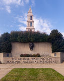 George Washington National Masonic Memorial Stock Photo