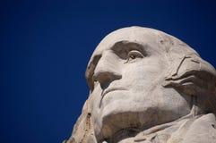 George Washington på Mt. Rushmore Arkivfoton