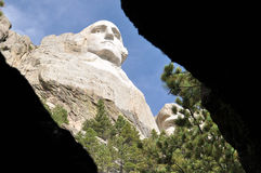 George Washington på Mt Rushmore i South Dakota Royaltyfri Foto