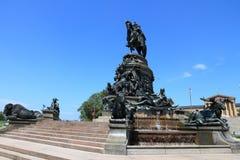 George Washington, Philadelphia. PHILADELPHIA, USA - JUNE 12, 2013: George Washington monument in Philadelphia. The statue designed in 1897 by Rudolf Siemering ( Royalty Free Stock Image