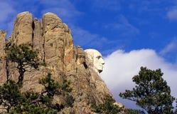 George Washington in pieno si chiude in su immagini stock