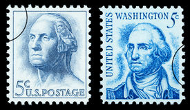 George Washington Postage Stamp Stock Afbeelding