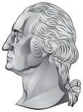 George Washington, primeiro presidente dos E.U. Imagens de Stock