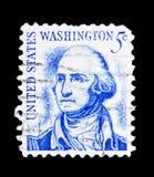 George Washington (1732-1799), 1r presidente, americanos famosos s Fotos de archivo libres de regalías