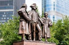George Washington, Robert Morris, Haym Salomon Memorial Royalty Free Stock Image