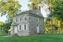 George Washington's Headquarters. In Valley Forge National Historic Park, Pennsylvania Royalty Free Stock Photo