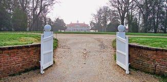 Free George Washington`s Mount Vernon Gates  1840 Stock Images - 212150304
