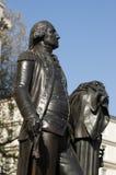 George Washington Standbeeld, Londen Royalty-vrije Stock Foto's