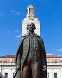 George Washington statua Fotografia Royalty Free
