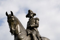 George Washington Statue Royalty Free Stock Photography