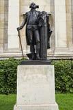 George Washington Statue. In Trafalgar Square, London stock photography