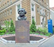 George Washington Statue Fotografering för Bildbyråer